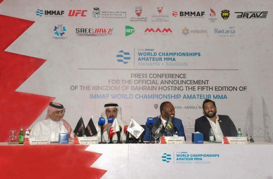 IMMAF President signs off on 2018/19 World Championships in Bahrain