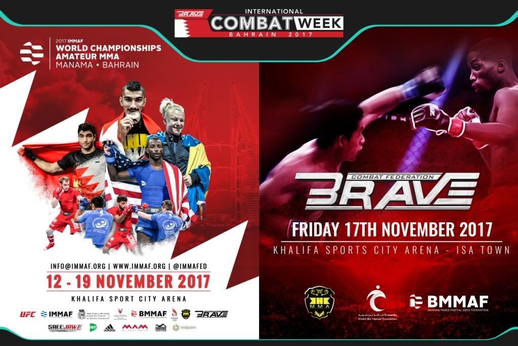 TICKETS ON SALE: 2017 IMMAF WORLD CHAMPIONSHIPS