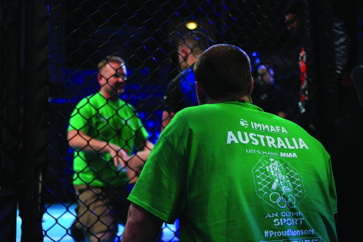 Australia confirms athletes for IMMAF Oceania Open team