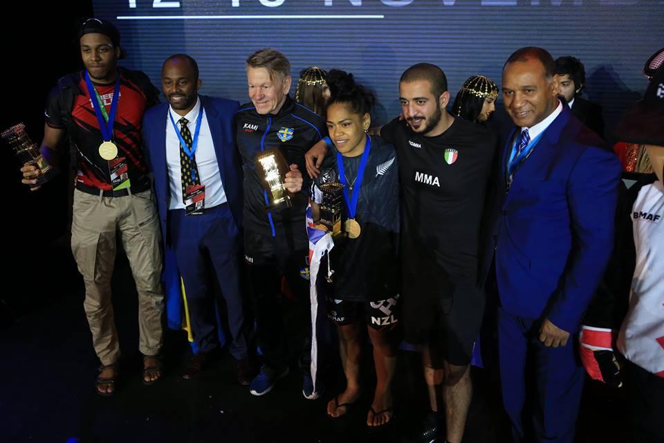 IMMAF World Championships Finals: Athlete Awards