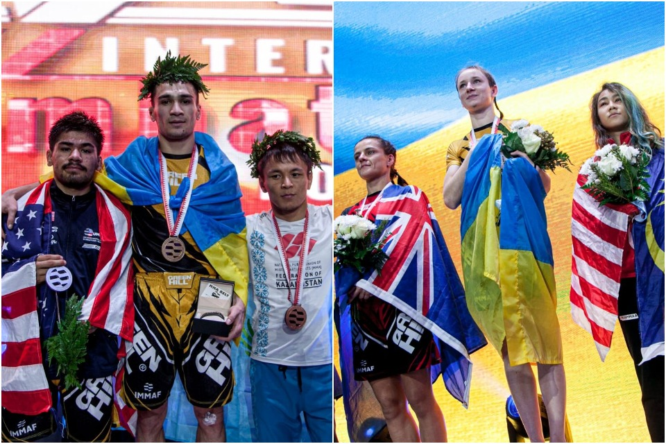 Ukraine Duo Reflect on IMMAF World Championships Gold Medals
