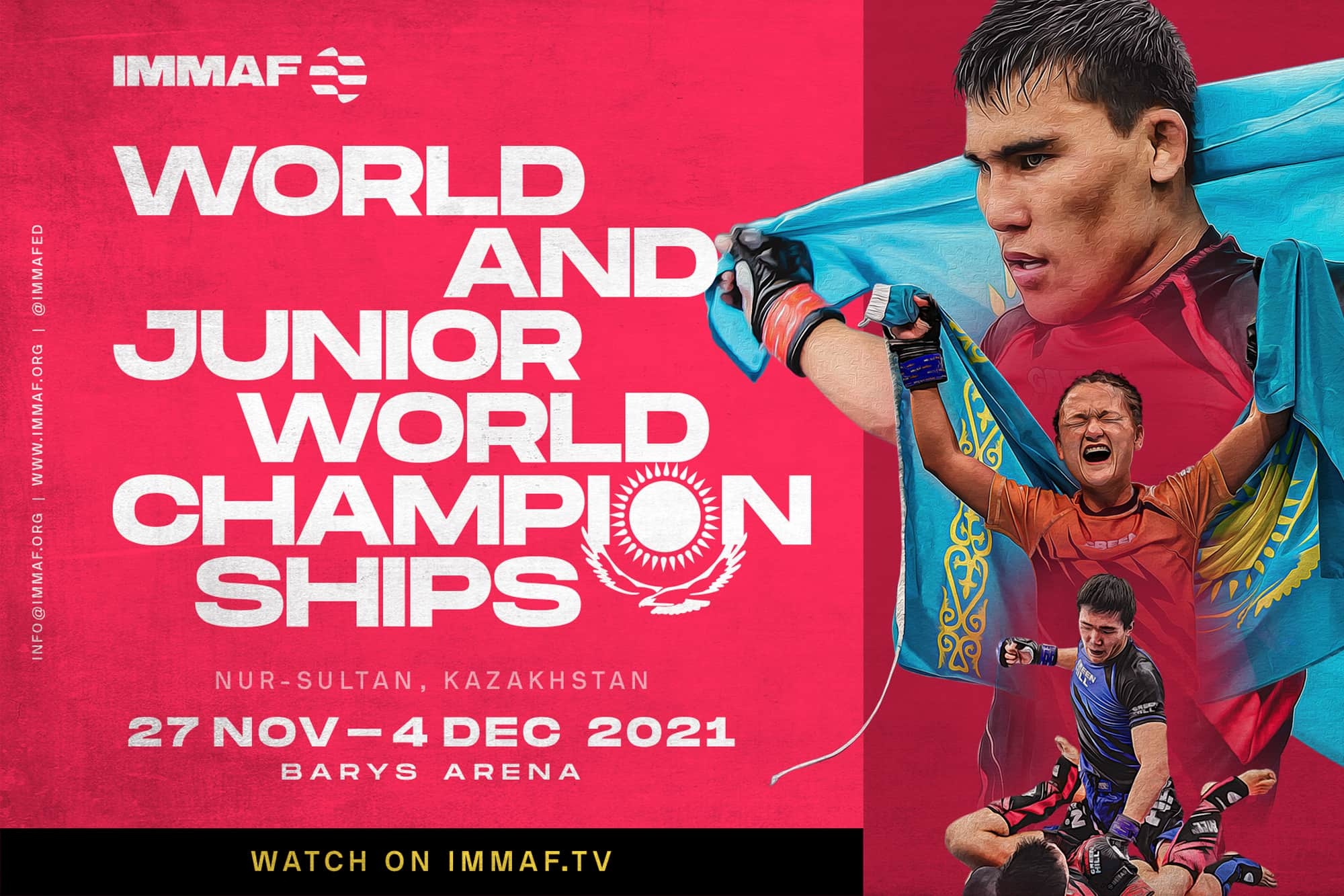 IMMAF confirms World Championships & 2021 Events