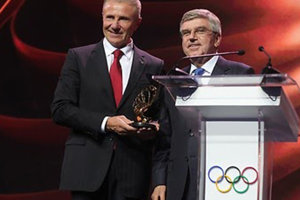 MMA Ukraine join the party to welcome IOC President Thomas Bach to Kiev